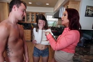 Xxx video Bangbros - stepmom janet mason fucks riley reid and her boyfriend
